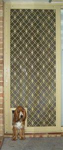 diamond beige door