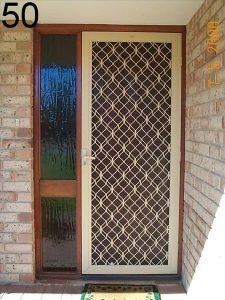 diamond screen door