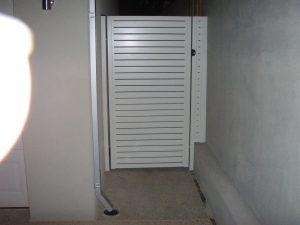 white entry panels