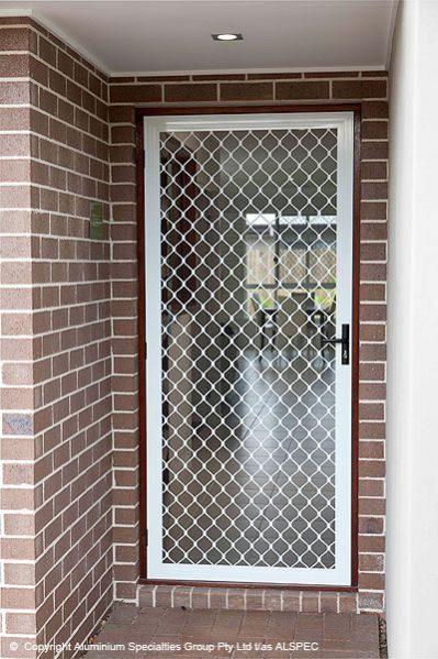 Grille Security Doors Perth, WA - Door Grilles - Custom Screens on