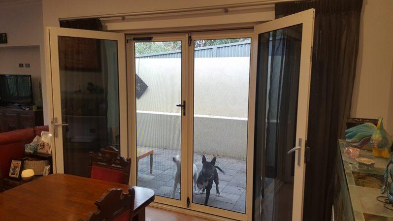 Hinged doors1 custom screens for Hinged screen doors for french doors
