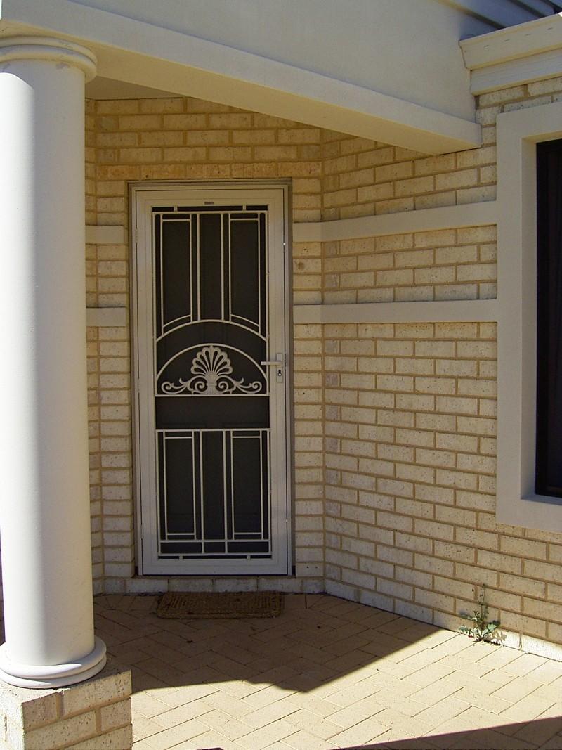Federation Style Security Door Screens Decorative Screen Doors