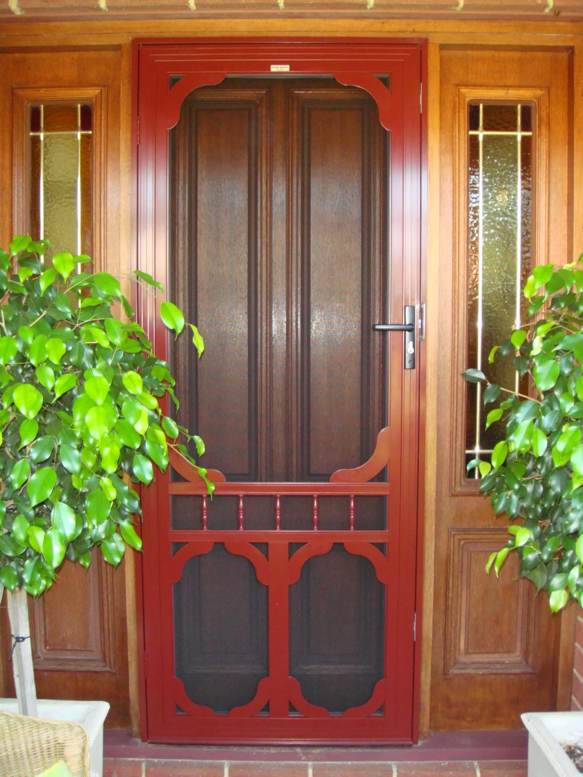 Security Doors Perth Decorative Security Doors Custom Screens
